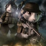 「キャットシットワン」小林源文先生の描くウサギ兵士がモフモフ♪